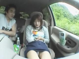 【美竹涼子】小旅行で途中停車してリモコンローターカーセックスで感じまくるS級美人女優