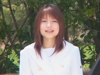 【Rio】《微エロ》まだ幼い顔つきだった頃の柚木ティナがJK制服姿で自らの陰部を身体測定!