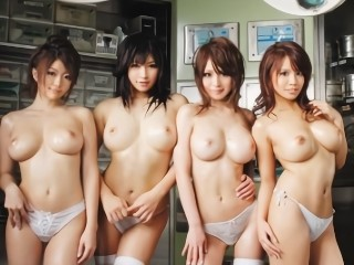 美人ナースが4人並んでハーレム濃厚セックスでED治療!【辻さき】【並木るか】【星乃せあら(南まりん) 】【吉沢みなみ】