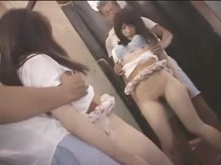 ショップ店員のS級美少女が試着室に連れ込まれてセクハラレイプ!