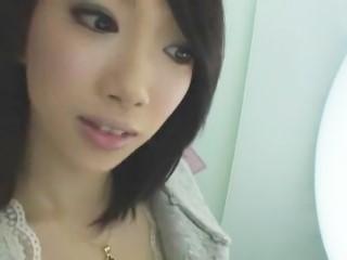 【長沢ゆき菜】一日デートの後ホテルの部屋で可愛い声で喘ぎながらハメ撮りされるスレンダー美女