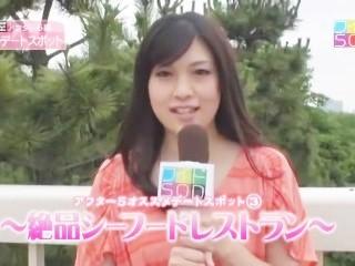 人気女子アナウンサーがお送りする!!Hで為になる情報ライブAV番組 'SODワイドショー' 杉崎杏梨