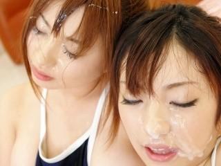 女子校生は顔射マニア! 成瀬心美 雪見紗弥