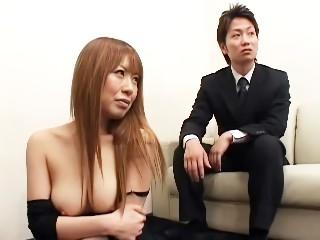 セックスレスの夫婦たちにカウンセリングするふりして旦那の目の前で奥さんを寝取っちゃいました!!